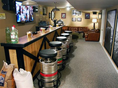 Mini Keg Lamp by 71 Home Bar Ideas To Make Your Space Awesome