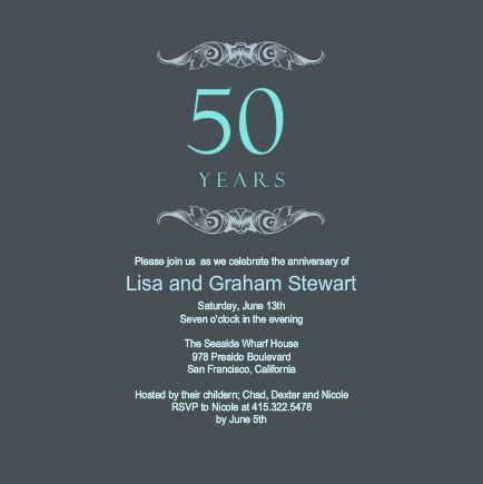 50th anniversary party ideas & inspiration from purpletrail