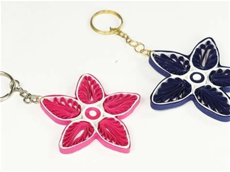 How To Make Paper Keychains - quilling easy handmade greeting cards paper cards paper