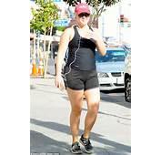 Amy Schumer Dons Skimpy Sportswear For Brisk Walk In Sunny LA  Daily