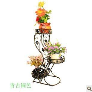 wrought iron flower stand for home decoration flowerpot
