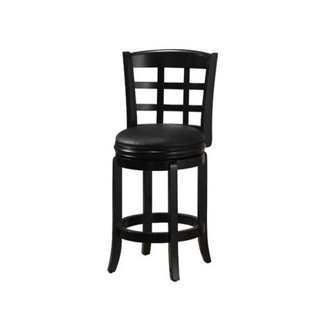 black counter height bar stools boraam kyoto 24 quot counter height swivel black bar stool ebay
