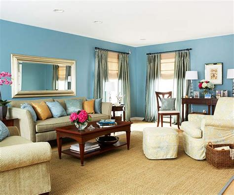 Blue Living Room Walls by 20 Blue Living Room Design Ideas