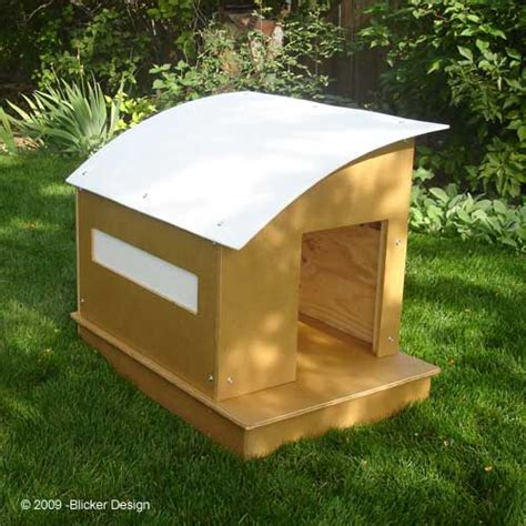 Jetson Green Finish This Green Prefab Dog House