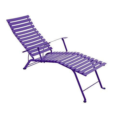 chaise longue fermob chaise longue pliante bistro de fermob 25 coloris