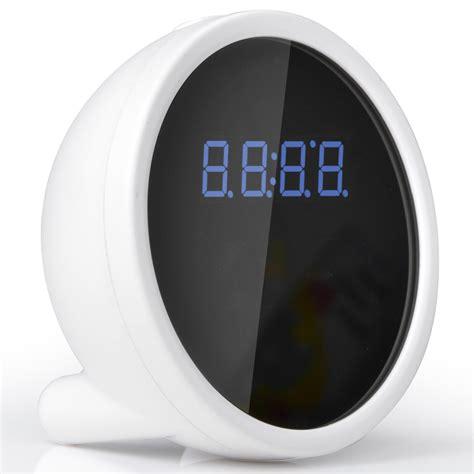 Cermin Wifi 1080p Alarm Clock wifi alarm clock 1080p hd motion detect dvr