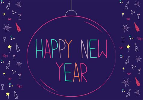 happy new year 2015 vector free free happy new year vector free vector