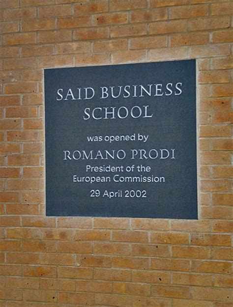 Oxford Said Mba Dates by Said Business School Oxford Uk