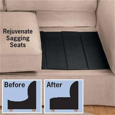 how to fix couch sag sagging sofa cushion support smalltowndjs com