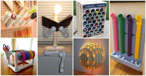 diy pvc pipes  bright  creative solutions   home