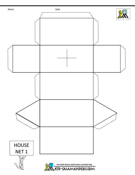 Templates In Net paper models for nets