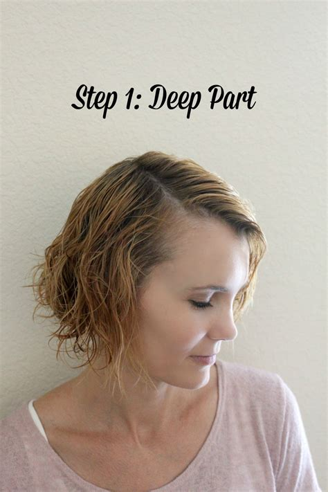 fabulous do it yourself haircuts quick and easy 3 step hairstyle idea for short hair