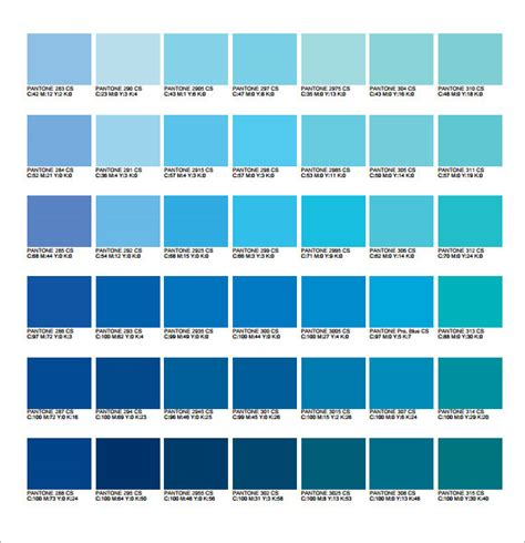 what is pms color pms color chart 6 free for pdf