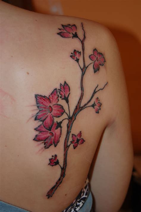 japanese cherry blossom tattoos cherry blossom tattoos designscherry blossom design