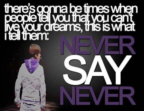 never say never never say never quotes like success