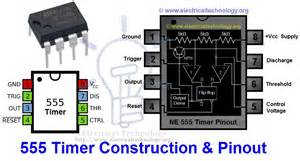 555 timer construction operation electrical technology