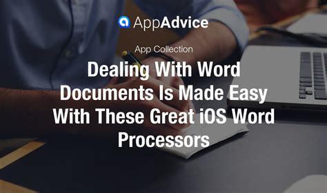 the best word processor the best word processors on ios