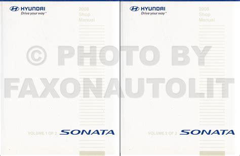 car repair manual download 2008 hyundai sonata transmission control 2008 hyundai sonata electrical troubleshooting manual original