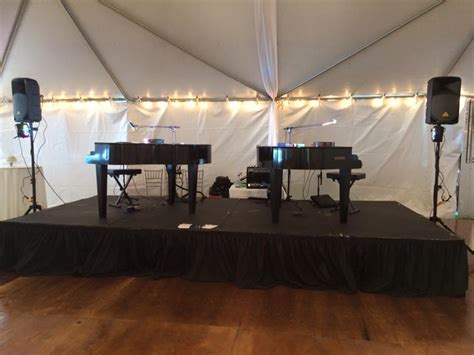 Dueling Piano Wedding Reception by About Orlando Dueling Pianos Wedding Receptions