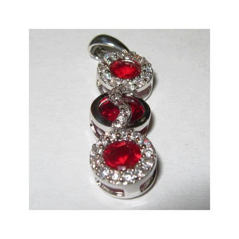 Liontin Batu Gambar 0 13 liontin silver 925 dengan batu permata top garnet