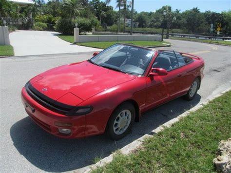 1992 Toyota Celica Convertible Buy Used 1992 Toyota Celica Gt Convertible 2 Door 2 2l 1