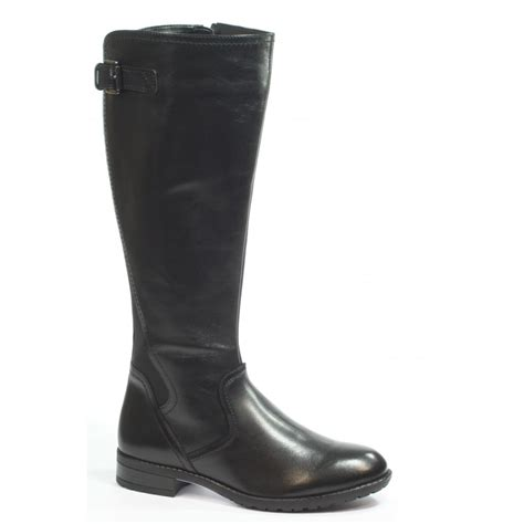 marshalls boots for caprice helina black boot 9 25553 29 marshall shoes