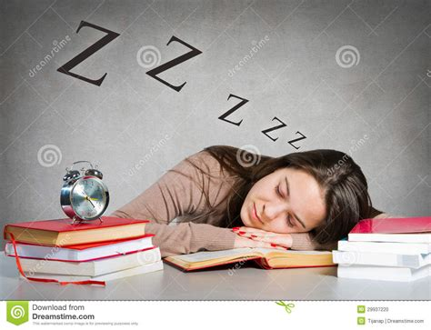 the sleeping books sleeping on books stock photo image 29937220
