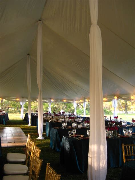 draping poles wedding tents rentals a grand event