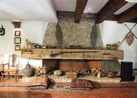 nature themed house 30 stone fireplace ideas for a cozy nature inspired home