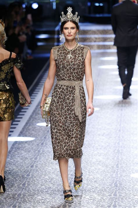 Milan Fashion Week by Balti Dolce Gabbana Show Runway On Milan Fashion