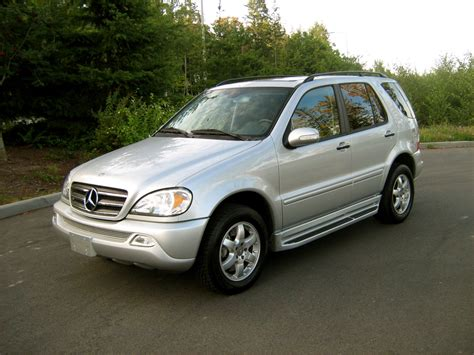 2004 Mercedes M Class by 2004 Mercedes M Class Information And Photos