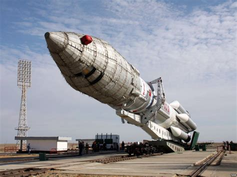 Russian Proton Rocket by Indigenous Siberian Protest Russian Rocket Crashes