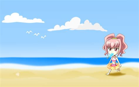 wallpaper cartoon beach cartoon beach background wallpaper 828411