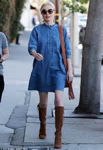 Kate Dress Inner kate bosworth unleashes inner in denim dress