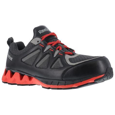 reebok work shoes reebok zigkick s composite toe work shoes 671156