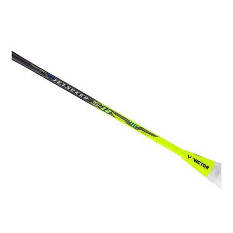 Raket Victor Jetspeed 12 victor jetspeed 12 4ug5 light powerful fast badminton racket