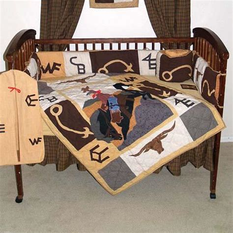 Baby Boy Western Crib Bedding Western Brand Crib Bedding Ensemble