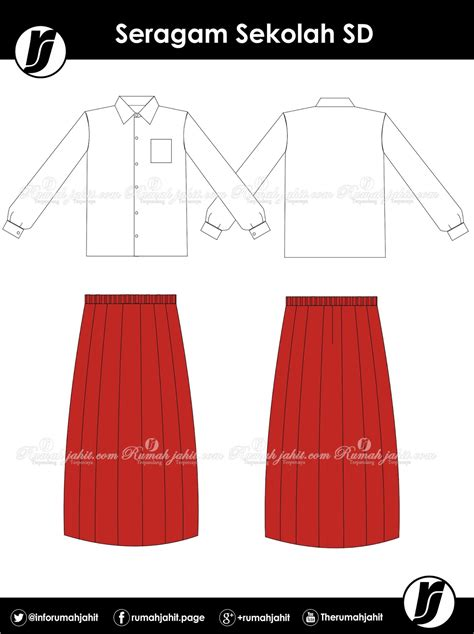 Rok Seragam Sd seragam sekolah sd mitra pengadaan seragam no 1 di indonesia