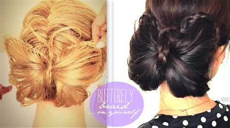 wn com how i style my braids pretty braided hairstyles how to butterfly braid bun