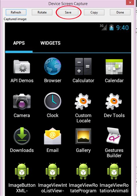 Where Android Screenshots Saved by Save Screenshot Android Exles