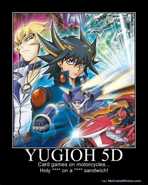 Yugioh Meme - card games on motorcycles