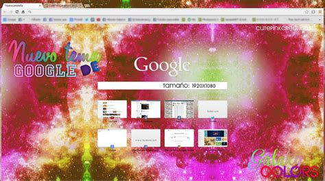 google chrome themes cute pink galaxycolor s theme google chrome by cutepinkcreations