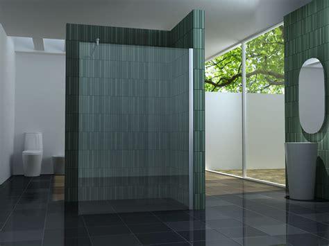dusche trennwand 140 walkin 10mm glas duschwand duschkabine duschabtrennung