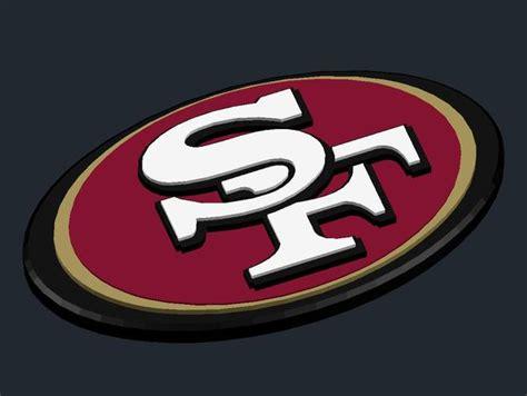 san francisco 49ers c 12 sanfrancisco 49ers logo by csd salzburg thingiverse