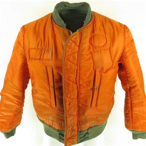 Jaket Hoodie Sweater Motor 37 vintage 70s ma 1 flight jacket mens m alpha industries
