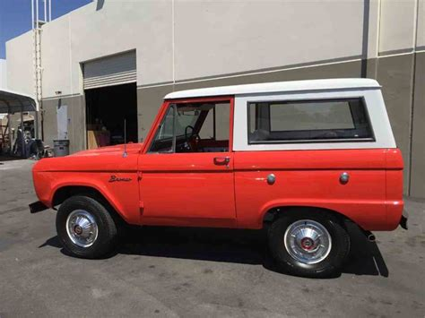 1966 Ford Bronco For Sale by 1966 Ford Bronco For Sale Classiccars Cc 889404