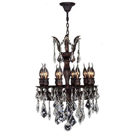 chandeliers for bedrooms acclaim lighting peyton indoor 6 light raw brass 11018 | flemish brass worldwide lighting chandeliers w83322f17 64 1000