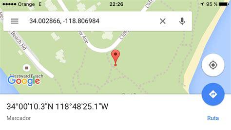 imagenes ocultas de google earth coordenadas c 243 mo buscar por coordenadas gps en google maps y apple maps