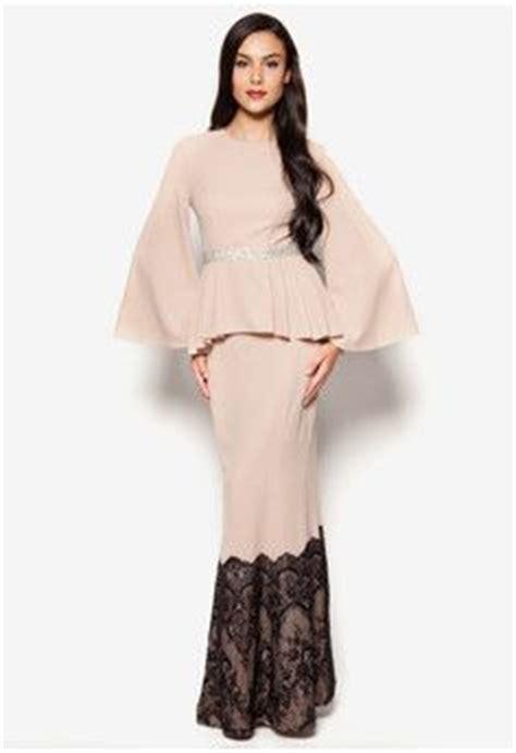 Viral Baju Kurung baju kurung moden kain songet terkini baju raya 2017 fesyen trend terkini 2017