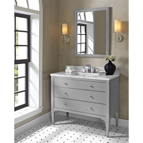 light grey bathroom vanity fairmont designs charlottesville 42 quot vanity light gray